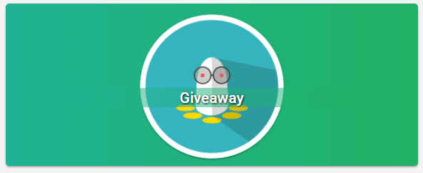 Giveaway badge
