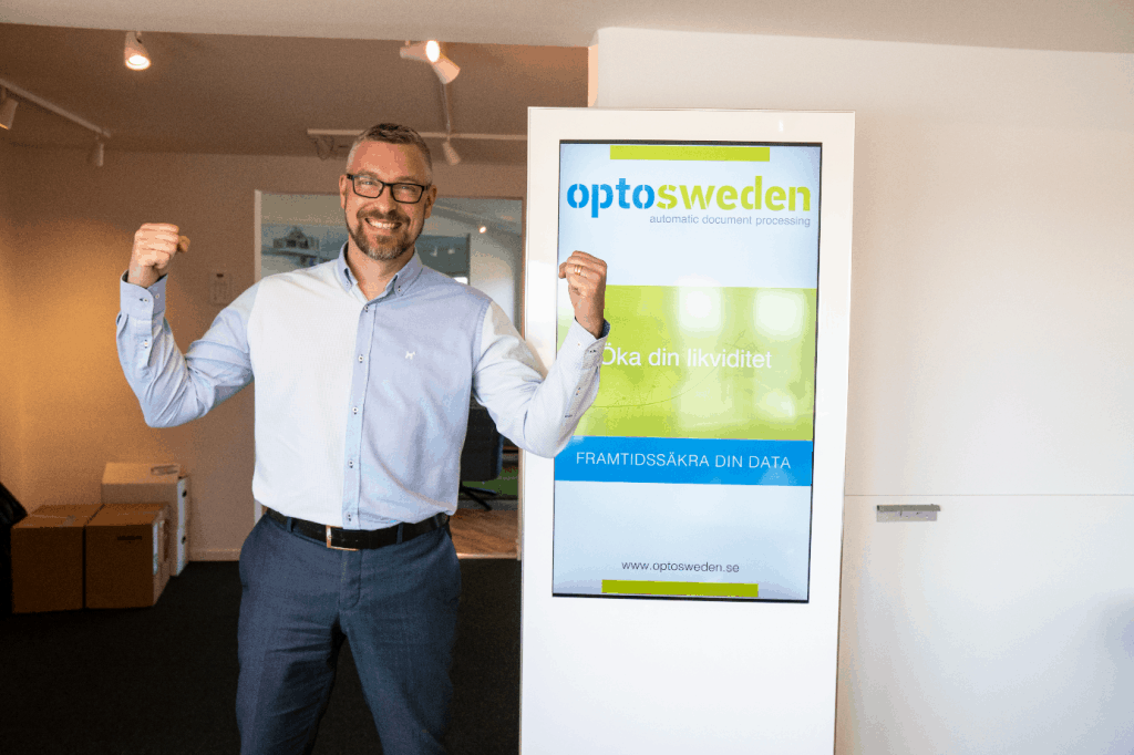 OptoSweden Niklas increased sales