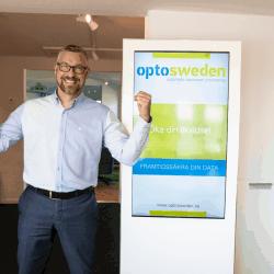 OptoSweden Niklas increased sales