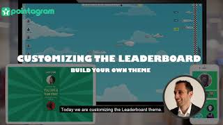 Customize a leaderboard gamification