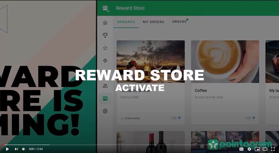 Pointagram Reward Store is here now