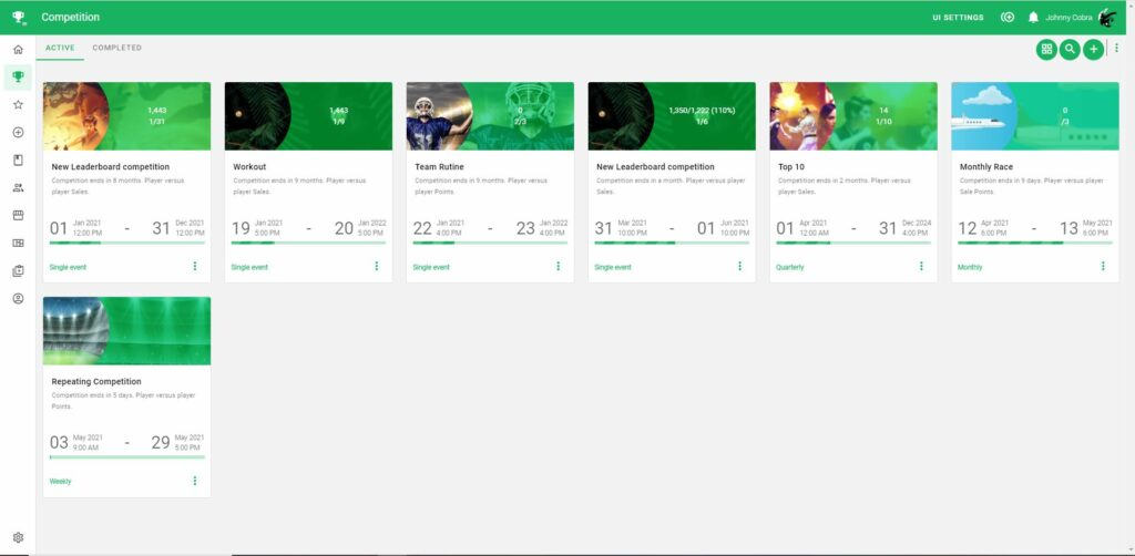 Compete Page