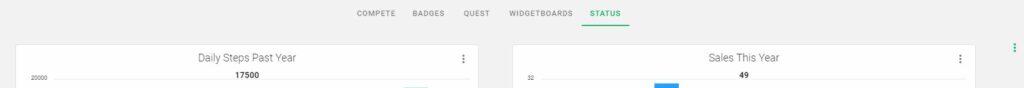 Widget Add Profile