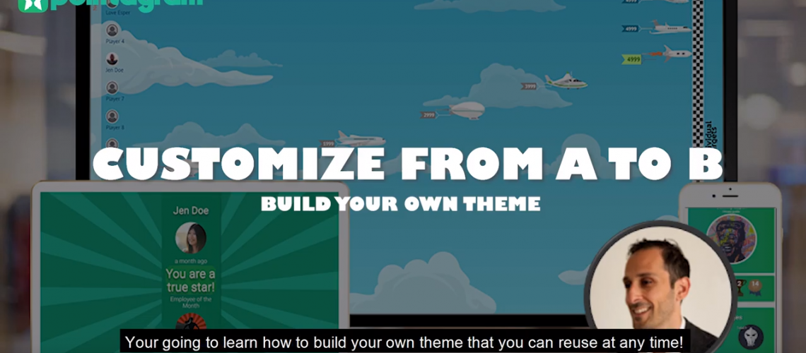 Customize From A to B Gamification